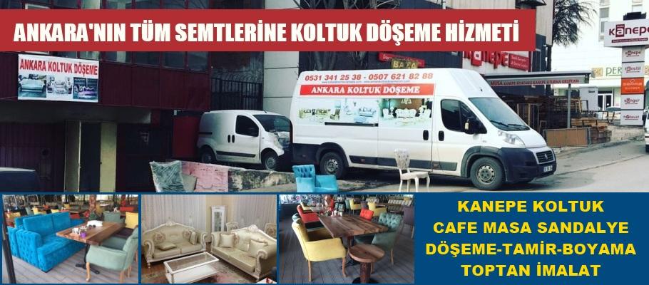 Ankara Koltuk Döşemeci